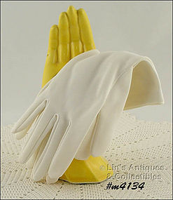 WHITE GLOVES (SIZE 7)