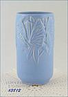 McCOY POTTERY � BUTTERFLY LINE 8� VASE (BLUE)