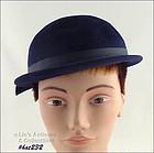 HENRY POLLAK NAVY BLUE HAT
