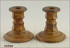 McCOY POTTERY � VINTAGE CANYON DIFFICULT TO FIND CANDLE HOLDERS