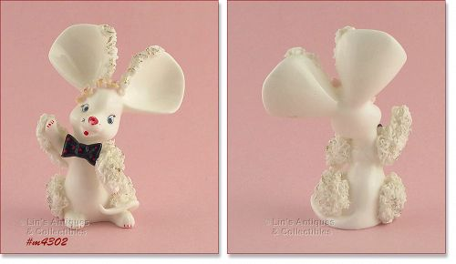 Vintage White Mouse Spaghetti Animal