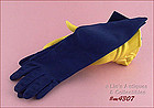 NAVY BLUE GLOVES (SIZE 6 ½ - 7)