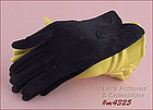 BLACK GLOVES (SIZE 6 ½)