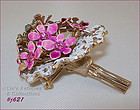 HATTIE CARNEGIE BOUQUET OF FLOWERS PIN/BROOCH