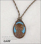 BLESSED VIRGIN PENDANT / NECKLACE