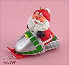 HALLMARK � �SNOWMOBILE SANTA� ORNAMENT DATED 1984