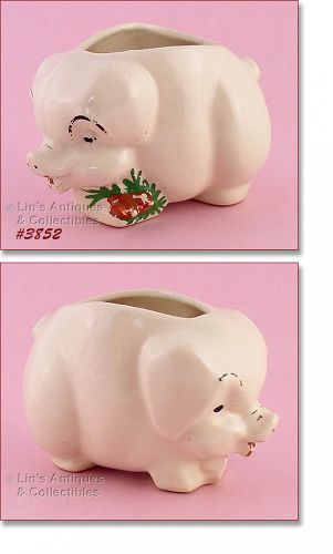 McCOY POTTERY � PIG PLANTER