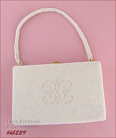 WALBORG BEADED HANDBAG - MINT CONDITION