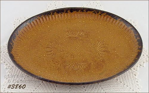 McCOY POTTERY � CANYON OVAL PLATTER (RARE)