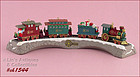 HALLMARK CLAUS & CO. R.R. COMPLETE W/DISPLAY