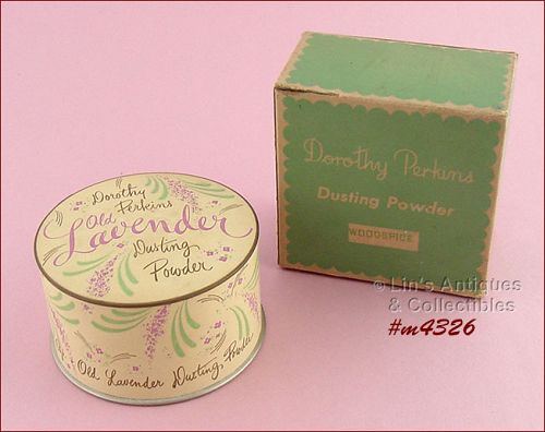 VINTAGE DOROTHY PERKINS DUSTING POWDER