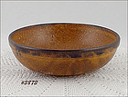 McCOY POTTERY � CANYON ROUND SERVING BOWL