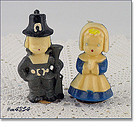 GURLEY CANDLE COMPANY � VINTAGE PILGRIM BOY AND GIRL CANDLES