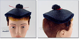 BENTLEY BONNETS NAVY BLUE HAT