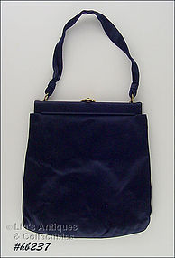 NAVY BLUE EVENING BAG BY JOSEF