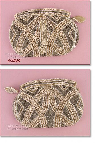 BELGIUM BEADED EVENING BAG