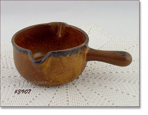 McCOY POTTERY VINTAGE CANYON DINNERWARE LINE GRAVY SERVER BOWL