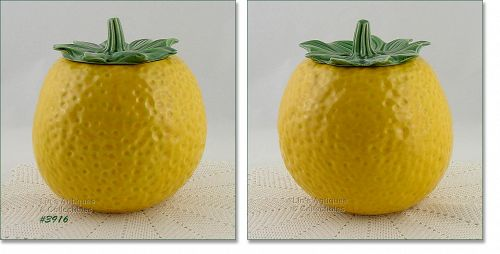 McCOY POTTERY VINTAGE LEMON COOKIE JAR