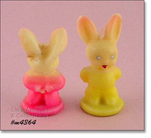 GURLEY � TWO BUNNY CANDLES