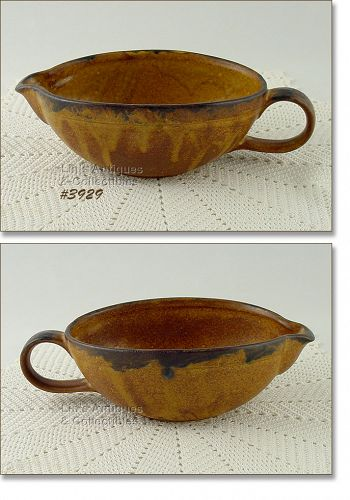 McCOY POTTERY VINTAGE CANYON DINNERWARE GRAVY BOAT SERVER