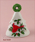 LEFTON � RED CARDINAL CHRISTMAS BELL