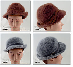 TWO KANGOL DESIGNS VINTAGE HATS MADE IN ENGLAND