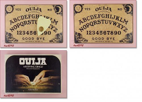 OUIJA BOARD OUIJA MYSTIFYING ORACLE IN BOX