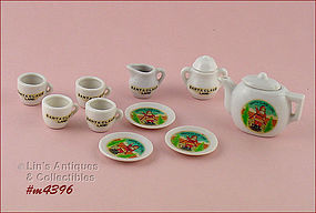 SANTA CLAUS LAND MINIATURE TEA SET