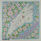 STATE SOUVENIR HANDKERCHIEF, NORTH CAROLINA