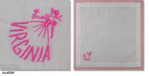 SOUTHERN BELLE HANDKERCHIEF FOR VIRGINIA
