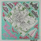 SOUVENIR HANDKERCHIEF, WASHINGTON D.C.