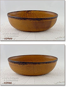 McCOY POTTERY � CANYON OVAL SHAPED SERVING BOWL