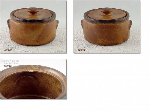 McCOY POTTERY � CANYON COVERED CASSEROLE
