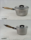 SET OF 2 VINTAGE WEAR-EVER ALUMINUM POTS WITH LIDS