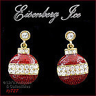 EISENBERG ICE � ORNAMENT SHAPED EARRINGS