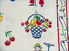Pair of Colorful Dutch Girl and Boy Design Kitchen Towels