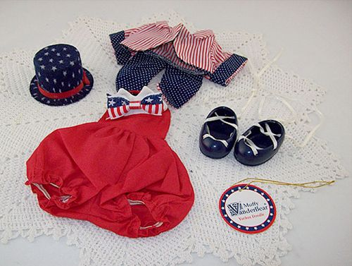 Hoppy VanderHare Muffy VanderBear Wear �Yankee Doodle� July 4th Outfit