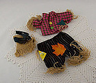 The Muffy VanderBear Wear Collection Halloween Scarecrow Outfit