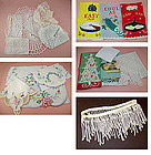 Lot of Assorted Vintage Linens for Re-Purposing (Lot #02)