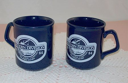 Two 1984 Peabody Coal Company Eastern Division Training Award Cups