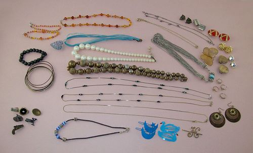 Vintage to New Costume Jewelry Lot for Wear Resale or RePurposing