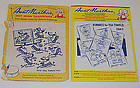 Two Packages of Uncut Vintage Aunt Martha�s Transfer Patterns