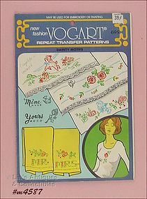 VINTAGE VOGART TRANSFER PATTERNS
