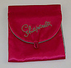 VINTAGE SCHIAPARELLI JEWELRY STORAGE / TRAVEL BAG OR FOR HOSIERY