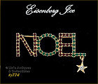 EISENBERG ICE � NOEL PIN WITH STAR DANGLE