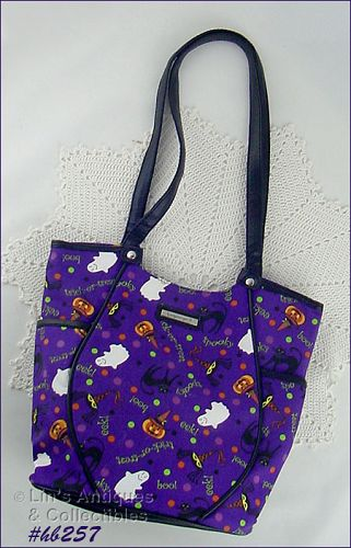 LONGABERGER HALLOWEEN THEME HANDBAG