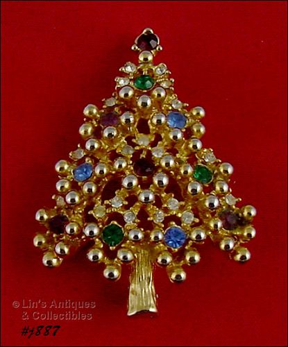 EISENBERG ICE � CLASSIC CHRISTMAS TREE PIN