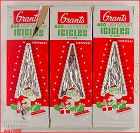 VINTAGE GRANTS LIGHTWEIGHT CHRISTMAS TREE ICICLES