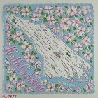 VINTAGE SOUVENIR HANDKERCHIEF FOR STATE OF NORTH CAROLINA