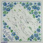 VINTAGE STATE SOUVENIR HANDKERCHIEF FOR COLORADO